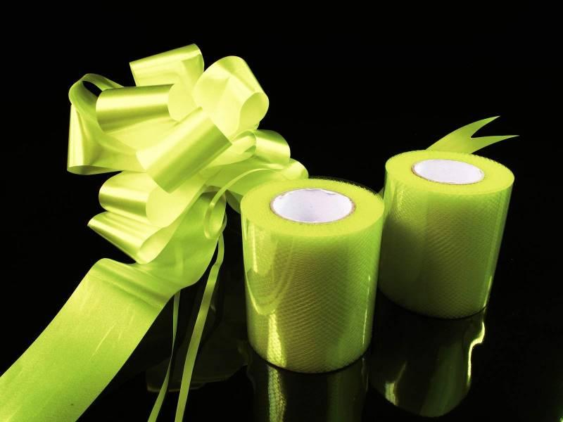 Kit décoration voiture mariage - Vert Lime