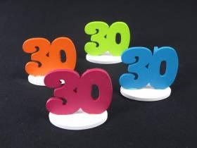 Marque place 30ans coloré x4