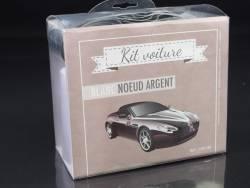 Kit décoration voiture mariage - Argent