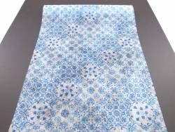 Chemin de table romance Azulejos