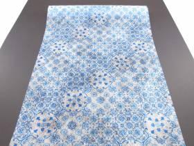 Chemin de table romance Azulejos