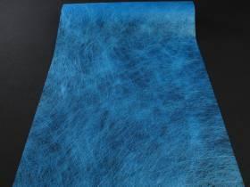 Chemin de table Romance - Bleu océan