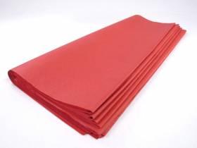 Mousseline, papier de soie - 120 feuilles - Rouge