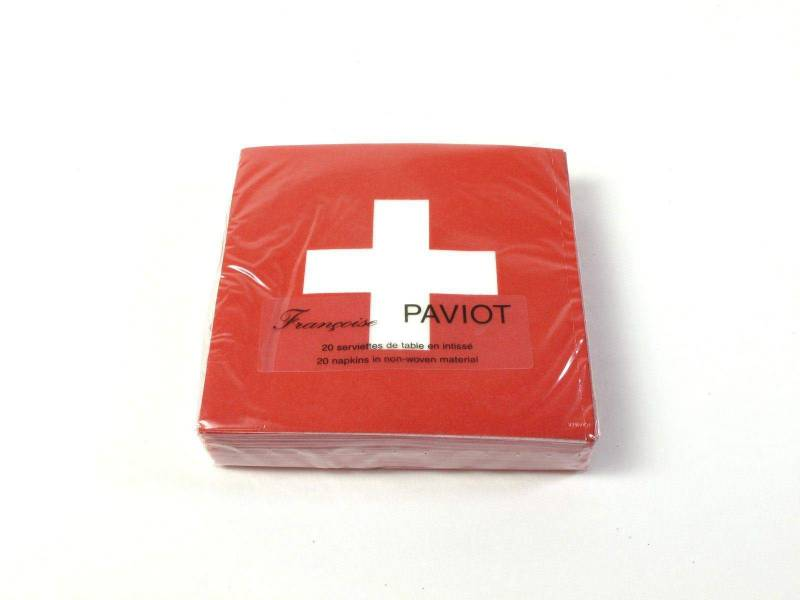 Serviette intissée - Croix Rouge
