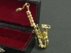 Saxophone pince - Or