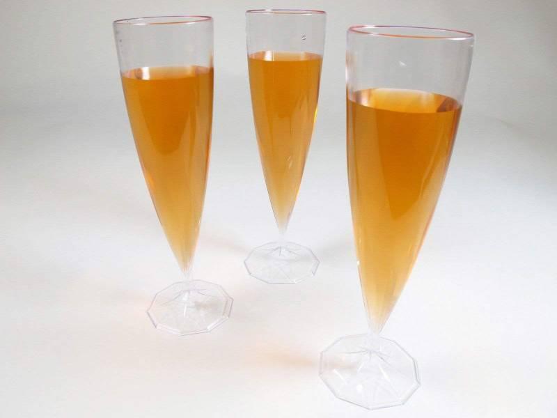 Flûte à Champagne Cristal en plastique résistant