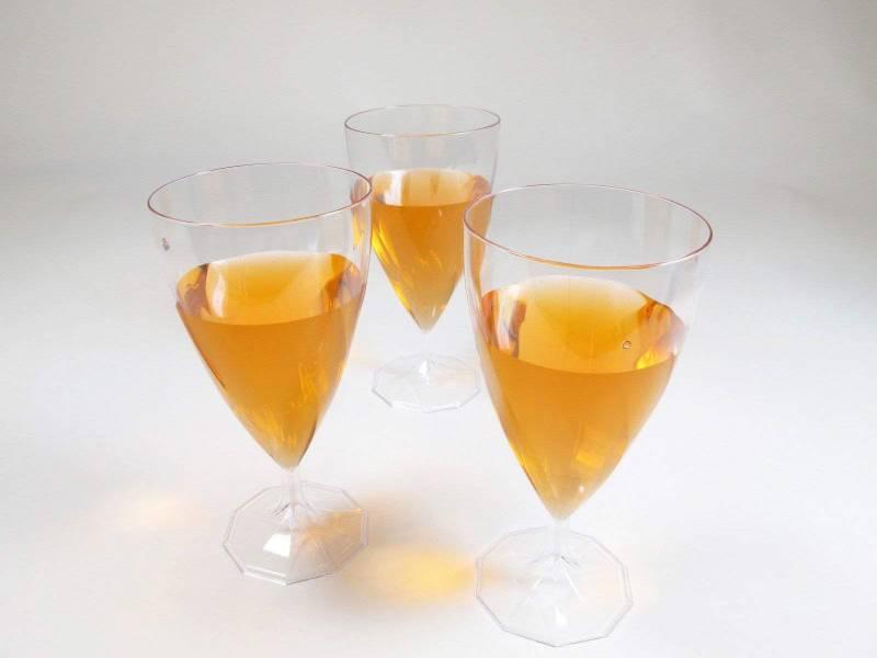 Verre à vin en plastique 15cl - Cristal