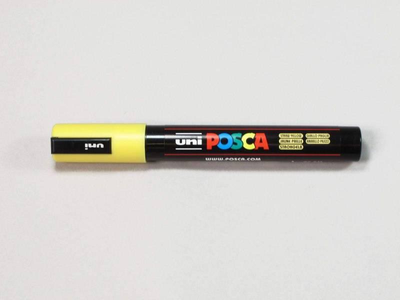 Marqueur POSCA 2,5mm - Jaune paille