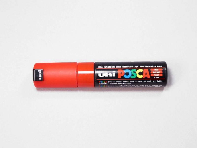 Marqueur POSCA 3-8mm - Rouge
