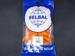 100 ballons Fête et Mariage Orange Ø12cm