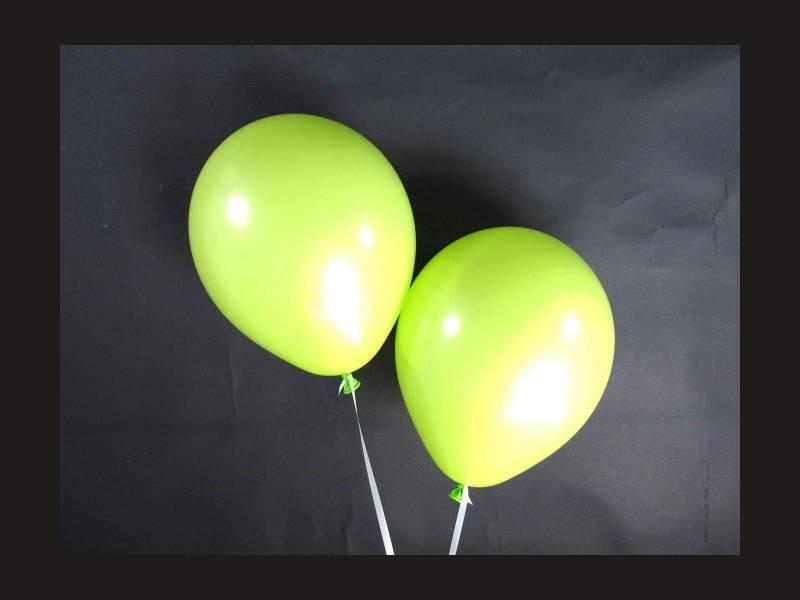 100 ballons Fête et Mariage Vert pomme Ø12cm