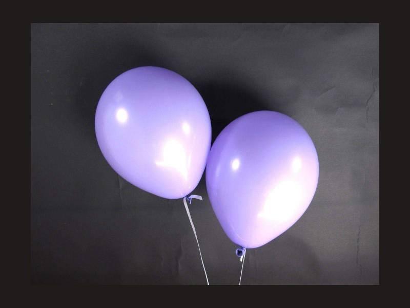 100 ballons Fête et Mariage Lavande Ø12cm