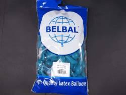100 ballons Fête et Mariage Turquoise Ø12cm