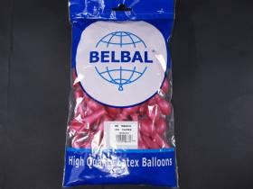 100 ballons métallisés Fête et Mariage Fuchsia Ø12cm