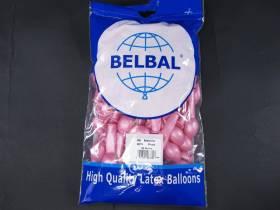 100 ballons métallisés Fête et Mariage Rose Ø12cm