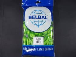 100 ballons métallisés Fête et Mariage Vert Pomme Ø12cm
