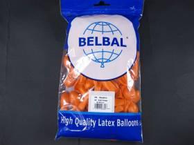 100 ballons métallisés Fête et Mariage Orange Ø12cm