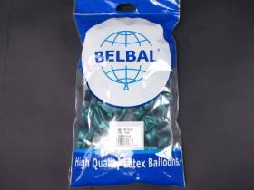 100 ballons métallisés Fête et Mariage Turquoise Ø12cm