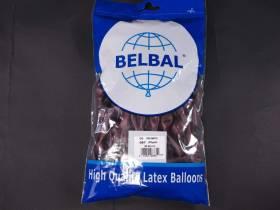 100 ballons métallisés Fête et Mariage Prune Ø12cm