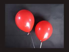 100 ballons Fête et Mariage Rouge Ø12cm