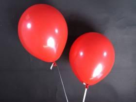 50 ballons Fête et Mariage Rouge Ø27cm