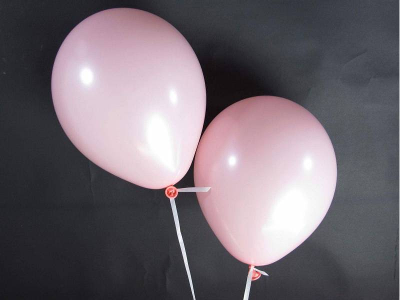 50 ballons Fête et Mariage Rose Ø27cm