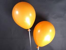 50 ballons Fête et Mariage Orange Ø27cm