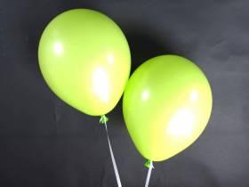 50 ballons Fête et Mariage Vert Pomme Ø27cm