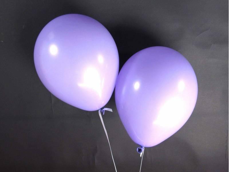 50 ballons Fête et Mariage Lavande Ø27cm