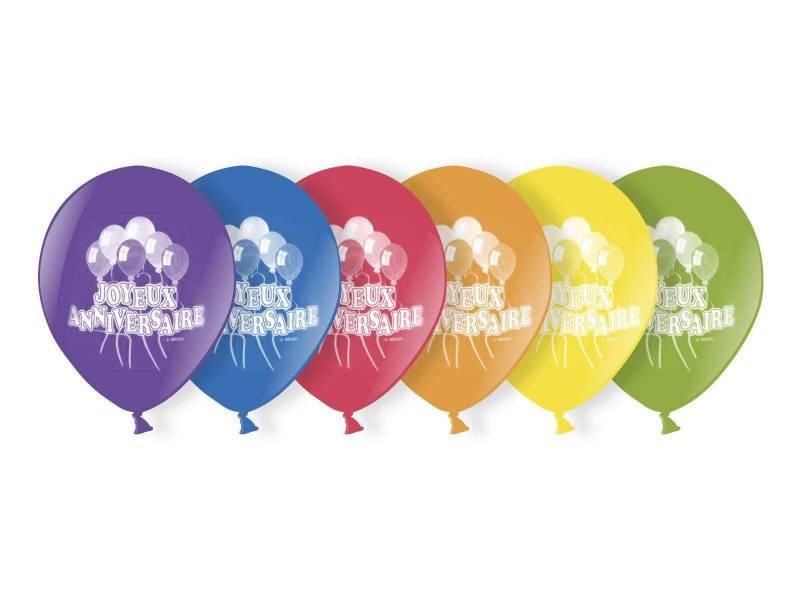 Ballon métallisé - joyeux anniversaire