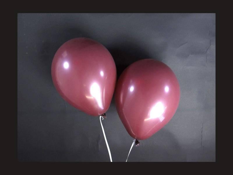 100 ballons Fête et Mariage Prune Ø12cm