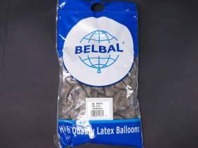 100 ballons Fête et Mariage Taupe Ø12cm