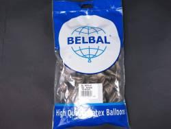 100 ballons métallisés Fête et Mariage Taupe Ø12cm