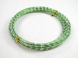 Fil alu plat 4mmx8,5m - Vert Lime