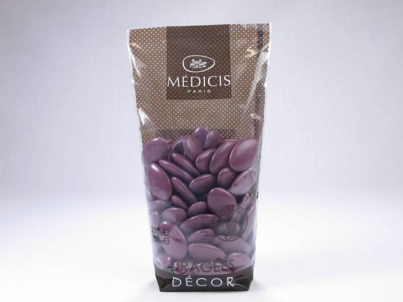 Dragée chocolat 70% cacao - Prune
