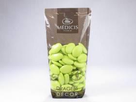 Dragée chocolat 70% cacao - Vert Anis