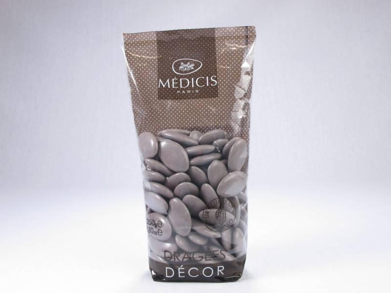 Dragée chocolat 70% cacao - Taupe