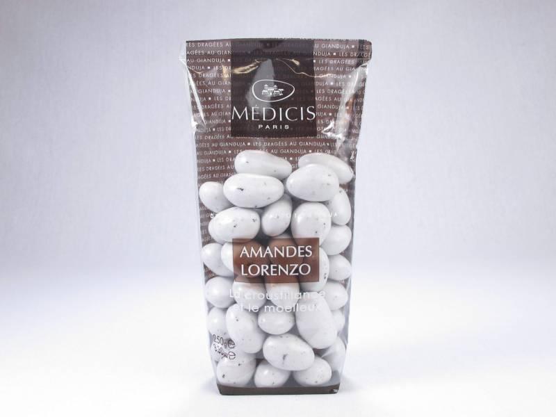 Dragée chocolat et amande lorenzo - Blanc - 250g