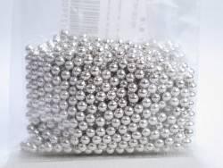 Perle Métal Argent alimentaire - 125g