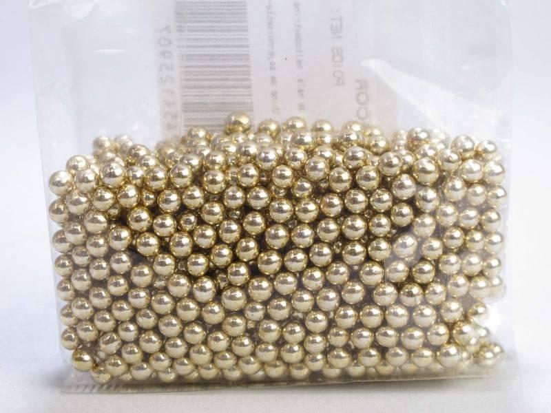 Perle Métal Or alimentaire - 125g