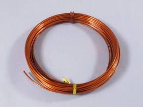 Fil Aluminium décoratif pour bijoux 2mmx10m - Orange