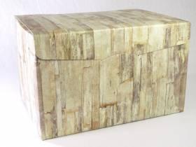 Boite Secret - Motifs bois 40x28x25cm