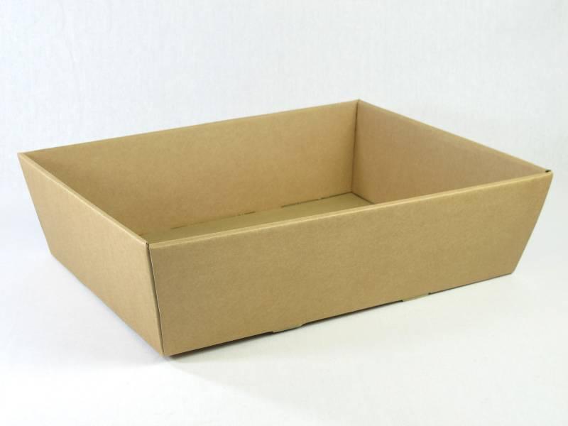 Corbeille carton - Havane 40x30x11,5cm