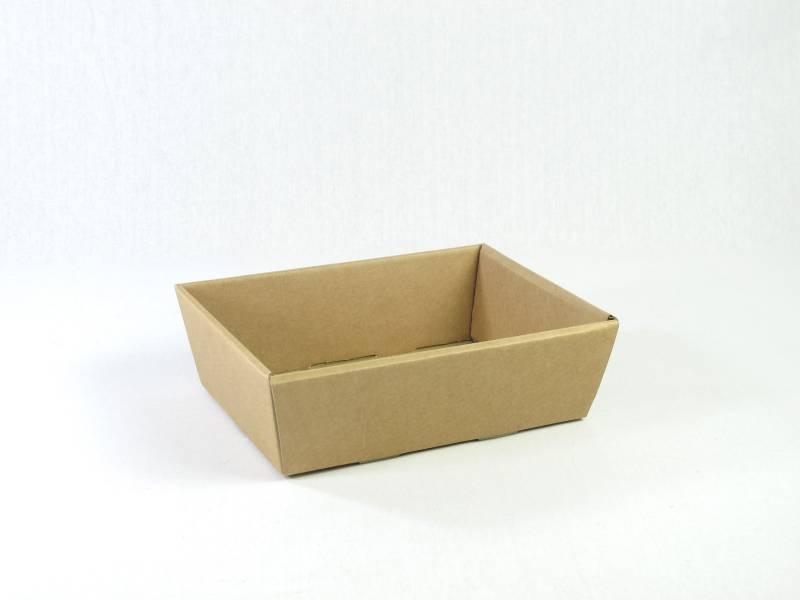 Corbeille carton – Havane 23x17x8cm