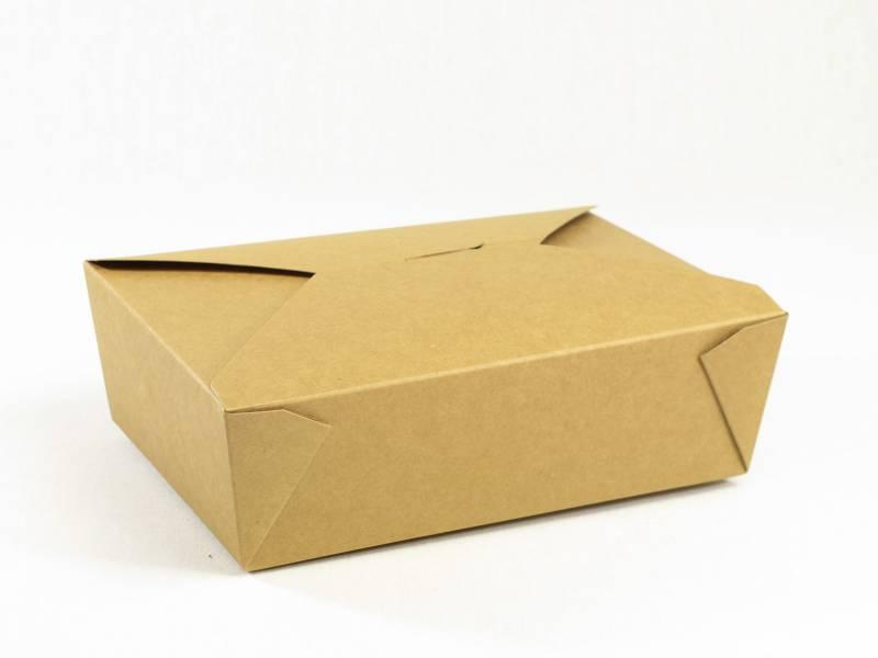 Barquette carton kraft, restauration rapide, Fast Food 200cl x50