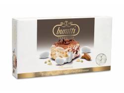 Dragée amande au goût Tiramisu 1Kg - Blanc