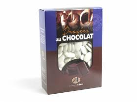 Dragée chocolat 54% cacao 1Kg - Blanc