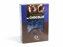 Dragée chocolat 54% cacao 1Kg - Bleu Roy