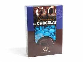 Dragée chocolat 54% cacao 1Kg - Turquoise