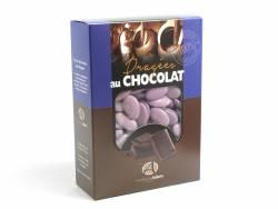 Dragée chocolat 54% cacao 1Kg - Lilas